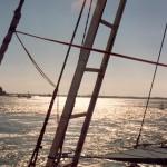 005. Arabian dhow off Mombasa