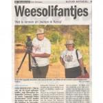 Het Kompas / De Weekkrant (weekly journal)  - 29 May 2010 - range: 39.360