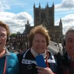 018. Sheila, Ria en Roger rondleiding