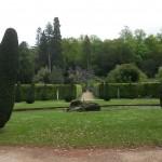 020. tuinen van 141 km² landgoed Chatsworth