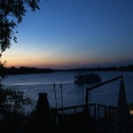 003. zonsondergang in Zambia