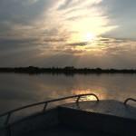 082. zonsondergang in Okavango