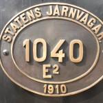 """007. """"de Zweedse Staatsspoorwegen"""""""