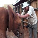 084. stoeien met Kenia