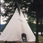 020. traditional teepee tent