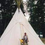 021. bezoek aan Shuswap indianen
