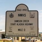 038. Dawson Creek - mile zero