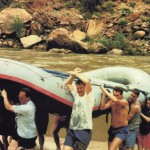 rafting Colorado river